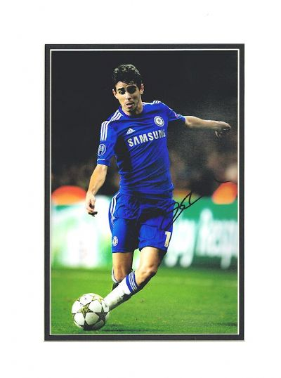 Oscar Autograph Photo Signed - Chelsea